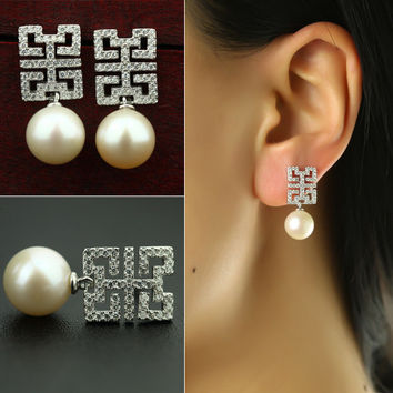 Pearls 925 Silver Earring Accessory [4914860548]