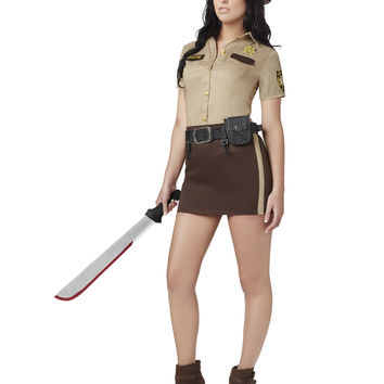 Walking Dead Sassy Rick Grimes Womens Costume – Spirit Halloween