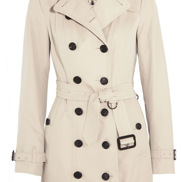 Burberry London - The Sandringham Mid cotton-gabardine trench coat
