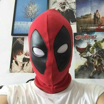 Deadpool Dead pool Taco Lycra  Mask Halloween Hood Mask For Kids And Adults  Cosplay Party Masks AT_70_6