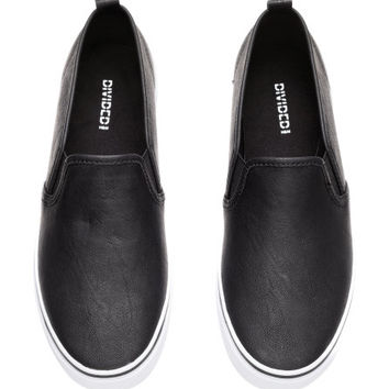 Slip-on Shoes - from H&M