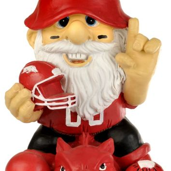 "Arkansas Razorbacks Garden Gnome 11"" Thematic  Second String"