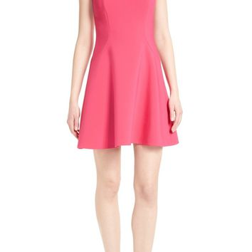 kate spade new york stretch crepe flip dress | Nordstrom
