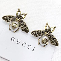 GUCCI New fashion pearl bee earring accessories