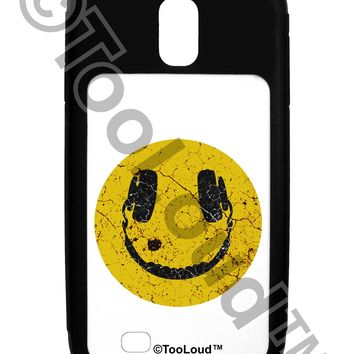 EDM Smiley Face Galaxy S4 Case  by TooLoud