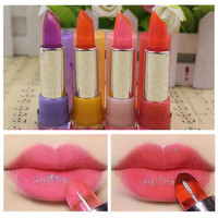 1PCS Color Changing Non stick Cup Crystal Lipstick Lip Balm Batom Fruit Flavor Cosmetics Maquiagem Maquillaje-in Lipstick from Health & Beauty on Aliexpress.com | Alibaba Group
