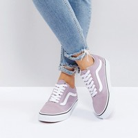 Vans Old Skool Sneakers In Lilac at asos.com