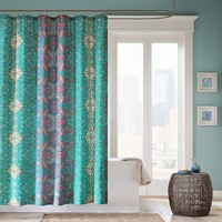 Mi Zone Keisha Fabric Shower Curtain