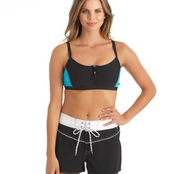 Nautica Swimwear 2015 l Sports Bra Bikini l Women Swim Short
