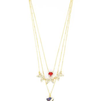 Duchess Triple Strand Necklace by Juicy Couture