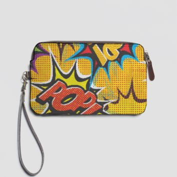 COMIC POP ART LEATHER