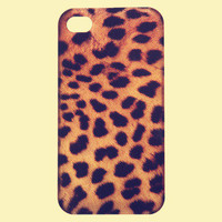 Vintage Leopard Skin Hard Case for iPhone 5 (Assorted Style)