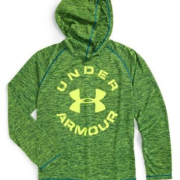 Boy's Under Armour HeatGear Hooded Running T-Shirt,