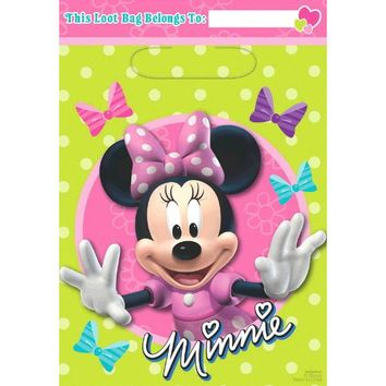 Disney Minnie Mouse Party Favor Bags