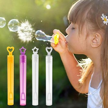 JOCESTYLE Empty Plastic Bubble Soap Bottle Tube Birthday Party Wedding Decor Kids Ideal Toys Gift Funny Game Playing Prop Gadget