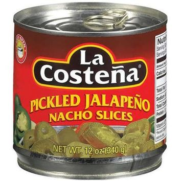 LA COSTENA: Pickled Jalapeno Nacho Slices, 12 oz