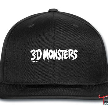 3-D Monsters Snapback