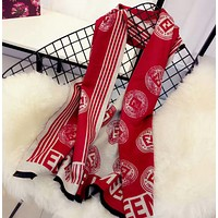 Fendi Multicolor Fashion Women Winter Scarf  Blanket Scarf