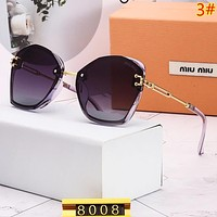 Miu Miu Fashion New Polarized Sunscreen Travel Glasses Eyeglasses Women