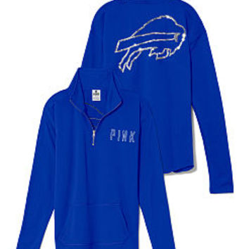 Buffalo Bills Bling Half Zip Pullover - PINK - Victoria's Secret