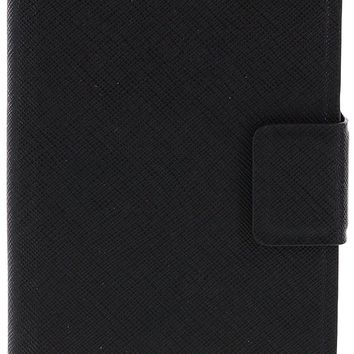 Kate Spade New York iPhone 6 Plus Leather Wrap Folio Phone Case (Black)