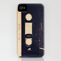 mix tape iPhone Case by Marianne LoMonaco | Society6