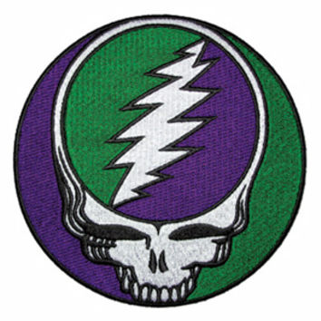 "Grateful Dead - Purple & Green Large 5"" SYF Patch"