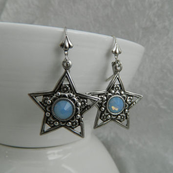 STAR SPELLS - Swarovski Crystal Earrings by Crow Haven Road