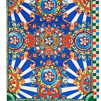 Dolce & Gabbana - Cerretto printed twill notebook