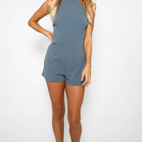 All About You Playsuit - Slate
