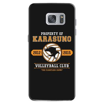 Property of Karasuno High School Volleyball Club Samsung Galaxy S7