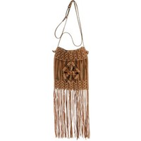 Lucky Brand Handbag, Macrame Fringe Small Crossbody