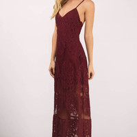 Wanderlust Lace Maxi Dress