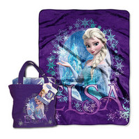 Frozen Queen Elsa Tote & Silk-Touch Throw | zulily