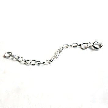"""Necklace Extender, 2"""" Sterling Silver Sterling Silver"""