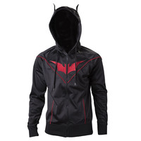 Batman Dark Knight Multi-Panel Official Hoodie with Ears