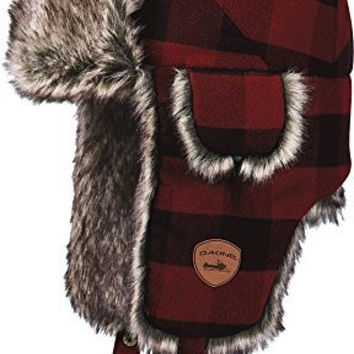Dakine Chuck Trapper Hat - Red Check - One Size