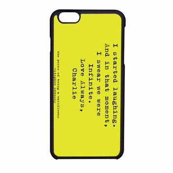 Perks Of Being A Wallflower iPhone 6 Case