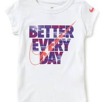 Nike Baby Girls 12-24 Months Better Everyday Graphic Short-Sleeve Tee | Dillards