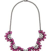 Cabochon Blossom Necklace