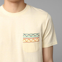 Koto Embroidered Pocket Tee