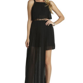 Pleated Dress in Black - BCBGeneration