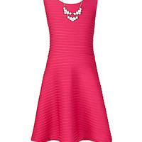 I.N. Girl 7-16 Sleeveless Fit & Flare Dress -