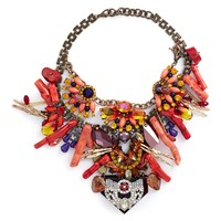 Anabela Chan | 'Amphitrite' embellished cluster bib necklace | Women | Lane Crawford - Shop Designer Brands Online