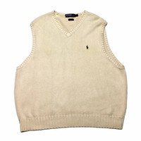 Vintage Polo by Ralph Lauren Golf Sweater Vest Mens Size XL