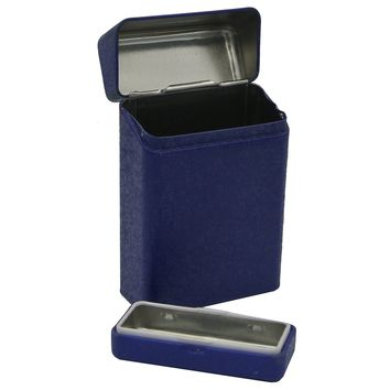 Metal Cigarette Cases Holders with Ashtrays for Regulars Kings