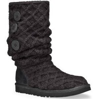 UGG Australia Lattice Cardy Womens Boots - 8.0/Black