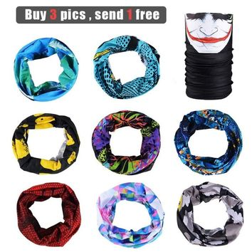 ROCKBROS Hiking Bandana Outdoor Sports Head Scarf Cycling Skiing Fishing Bicycle Windproof UV Protect Sweat Neck Face Mask Men
