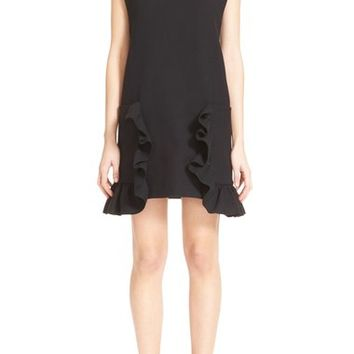 Marni Ruffle Pocket Tunic Dress | Nordstrom