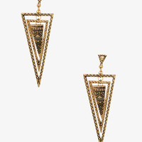 Arrowhead Drop Earrings | FOREVER 21 - 1000048454
